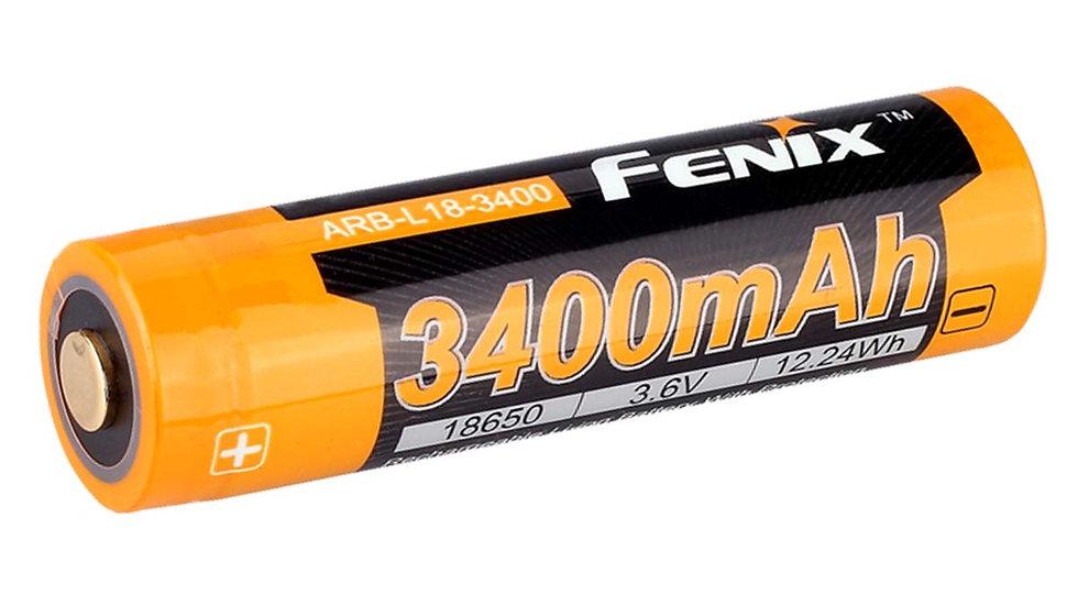 Fenix 18650 battery 3400mAh