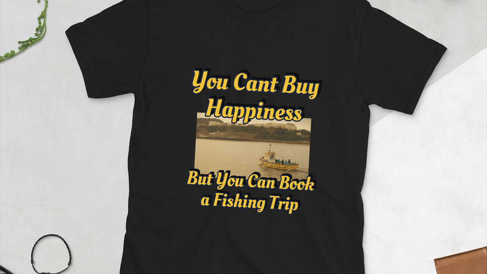 You can't buy happiness - Short-Sleeve Unisex T-Shirt