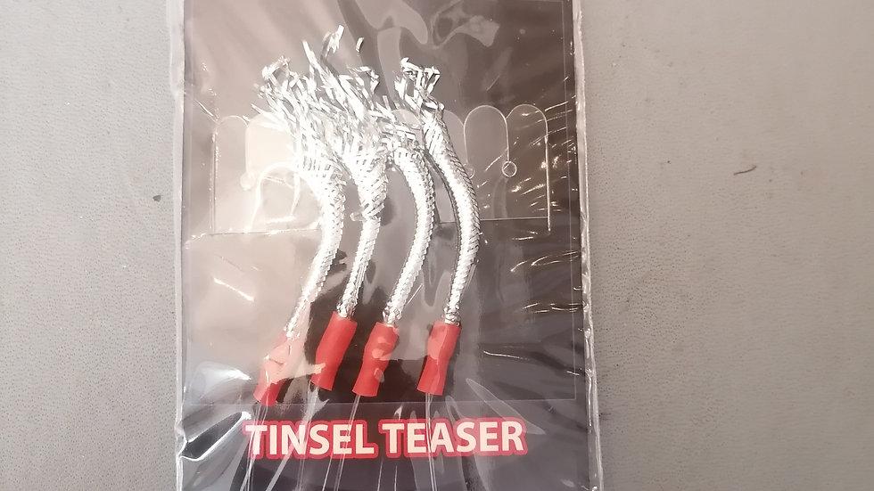 Tinsel Teaser 1/0, 4 hook - Inova