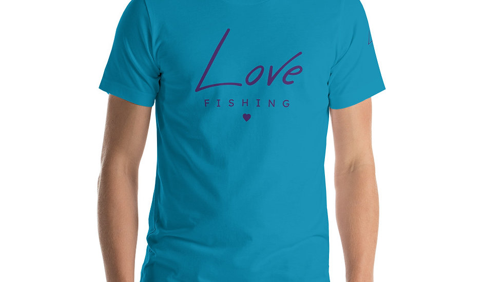 Love Fishing - Short-Sleeve Unisex T-Shirt