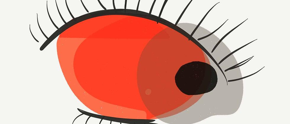 Red Eye | Wall Art