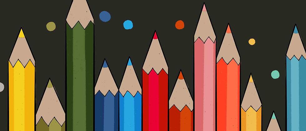 Colours   Wall Art