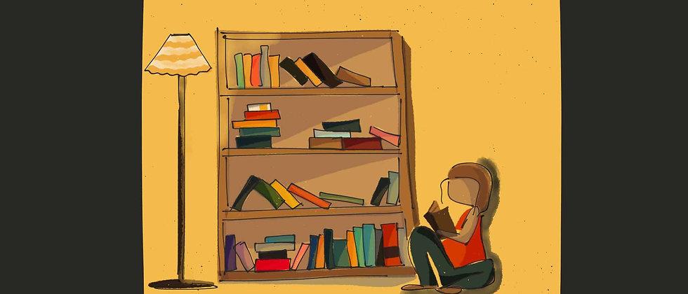Bookshelf | Wall Art