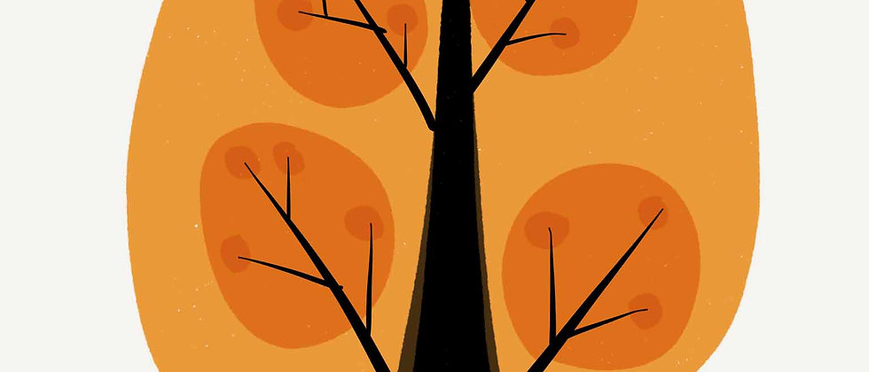 Orange Tree | Wall Art