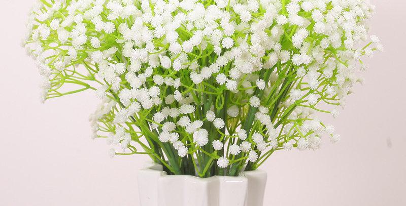 hoa giả trang trí giá rẻ ở hà nội
