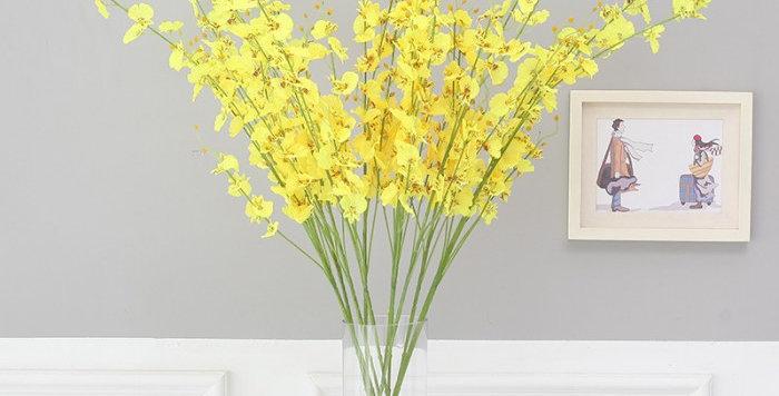 hoa giả trang trí ở hà nội