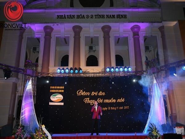 Chương trình có sự góp mặt của các ca sĩ, nhóm nhạc nổi tiếng