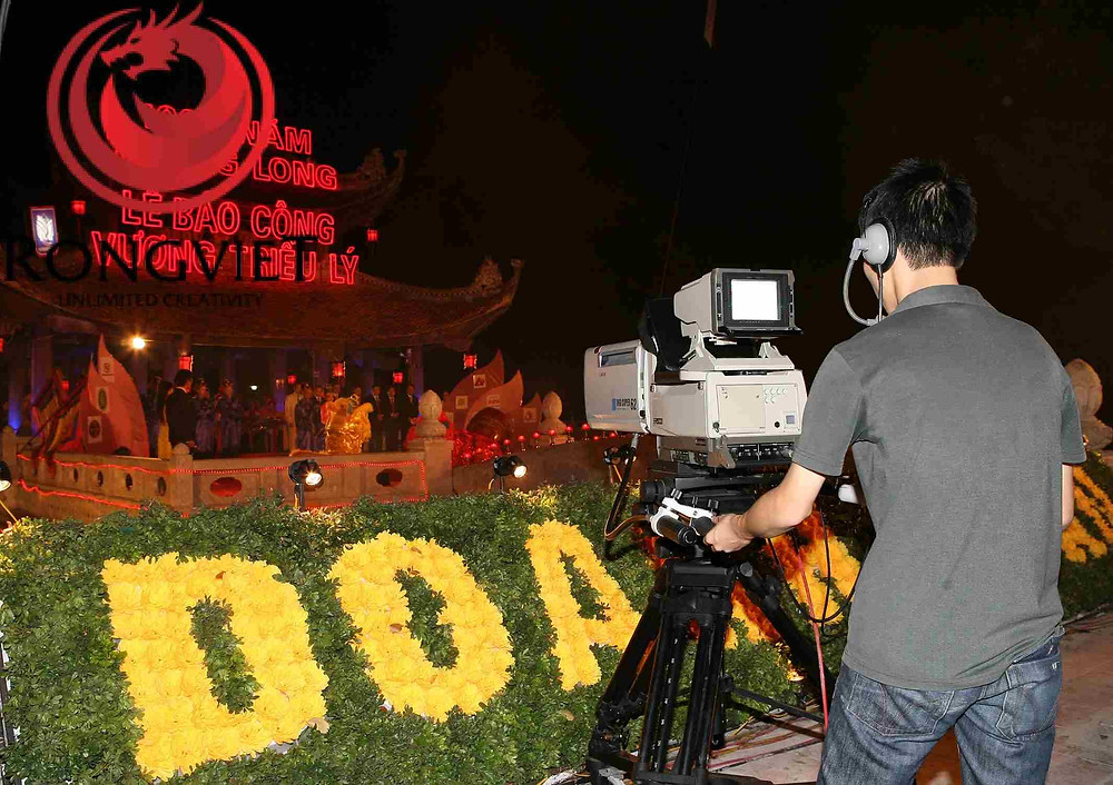 Chương trình được truyền hình trực tiếp trên các phương tiện thông tin đại chúng