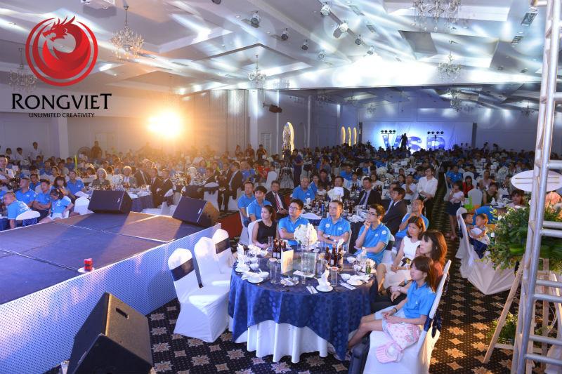 Toàn bộ khán phòng của chương trình - Tổ chức sự kiện - Công ty sự kiện Rồng Việt