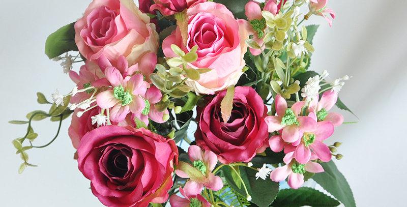 hoa giả để bàn trang trí đẹp rẻ