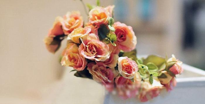 hoa giả trang trí đẹp rẻ ở hà nội