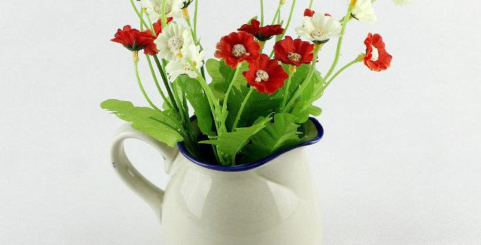 hoa trang trí để bàn đẹp rẻ