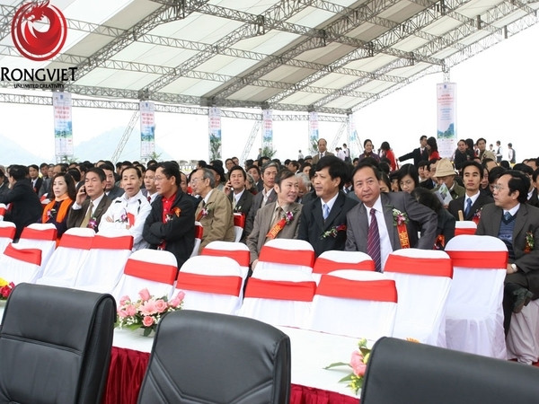 Buổi lễ có sự góp mặt của gần 300 quan khách