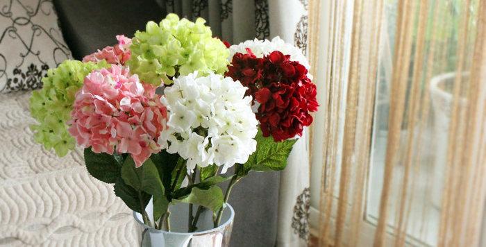 hoa giả trang trí để bàn đẹp rẻ