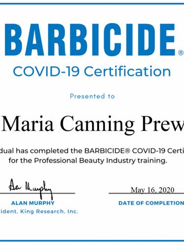 Barbicide Certificate.png