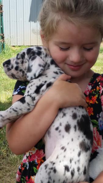 Ashton and Puppy