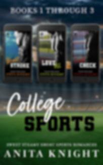 College Sports Series BUNDLE ebook (1-3)