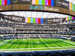 50-Yard Line Seats & the 2.2-Million Pound Oculus Scoreboard