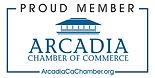 Arcadia  Chamber of Commerce Proud Membe