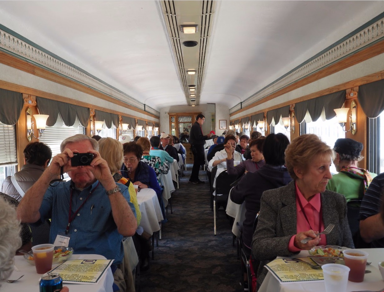 Filmore Western Railway Dining Car
