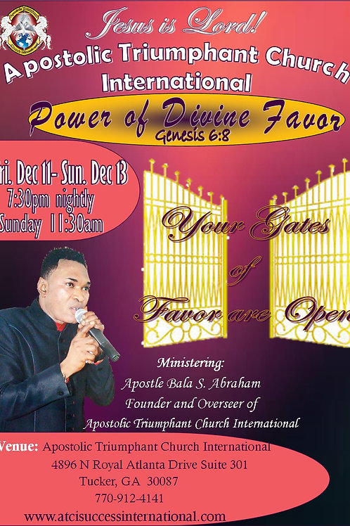 Power of Divine Favor