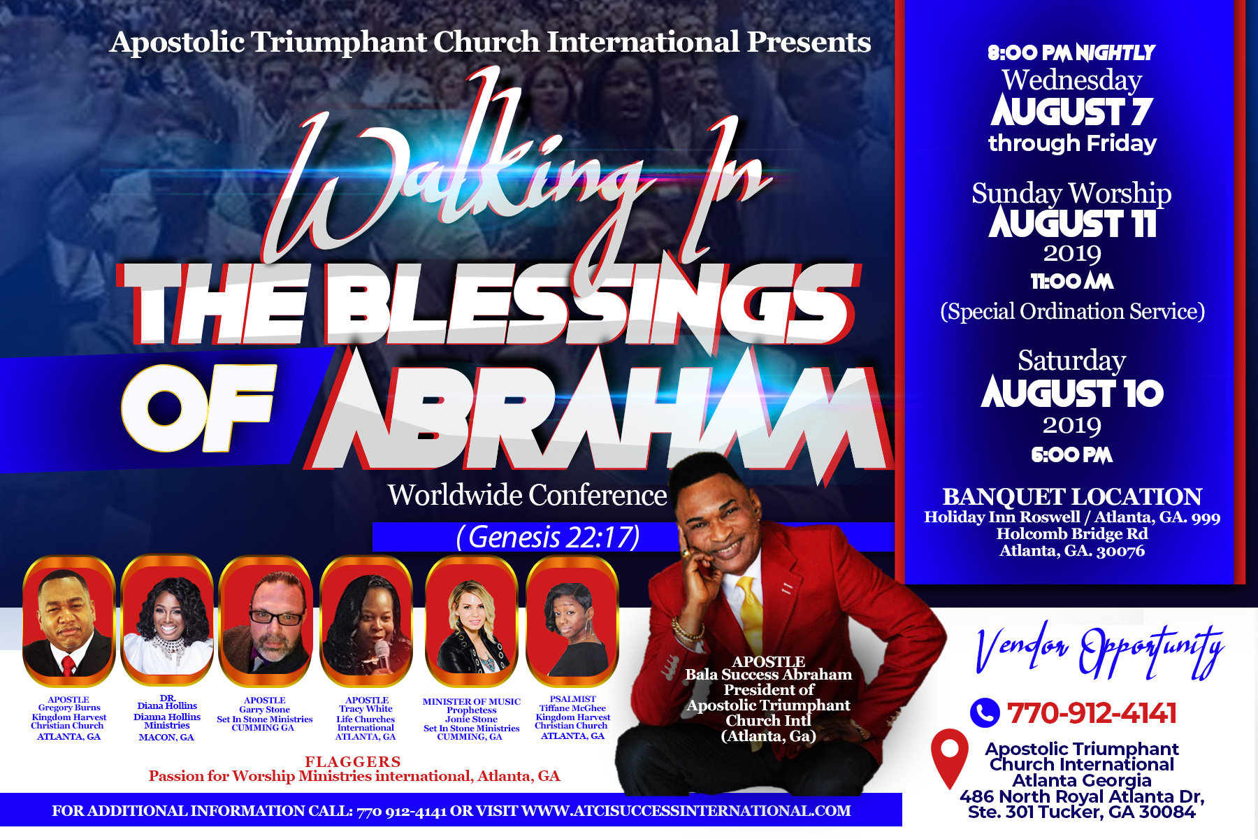 2019 Missions The Blessing of Abraham