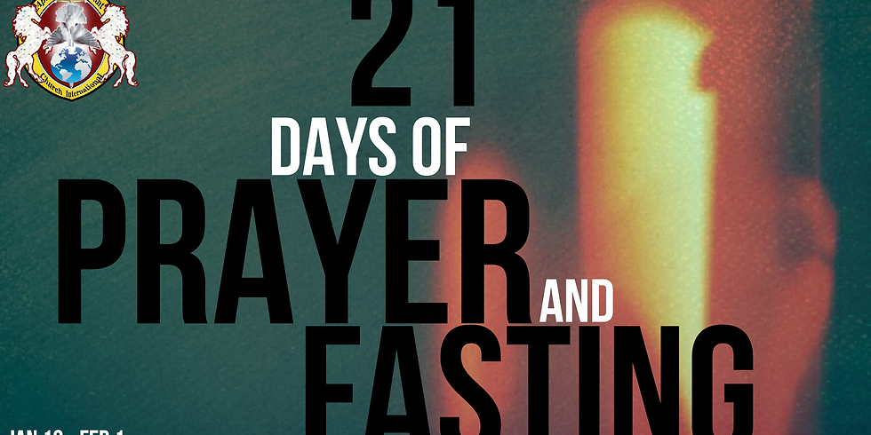 2020 21 Days of prayer and fasting