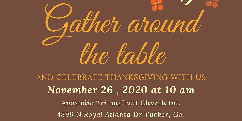 Thanksgiving with ATCI