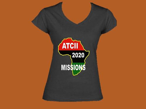 2020 Missions Women's V-neck T