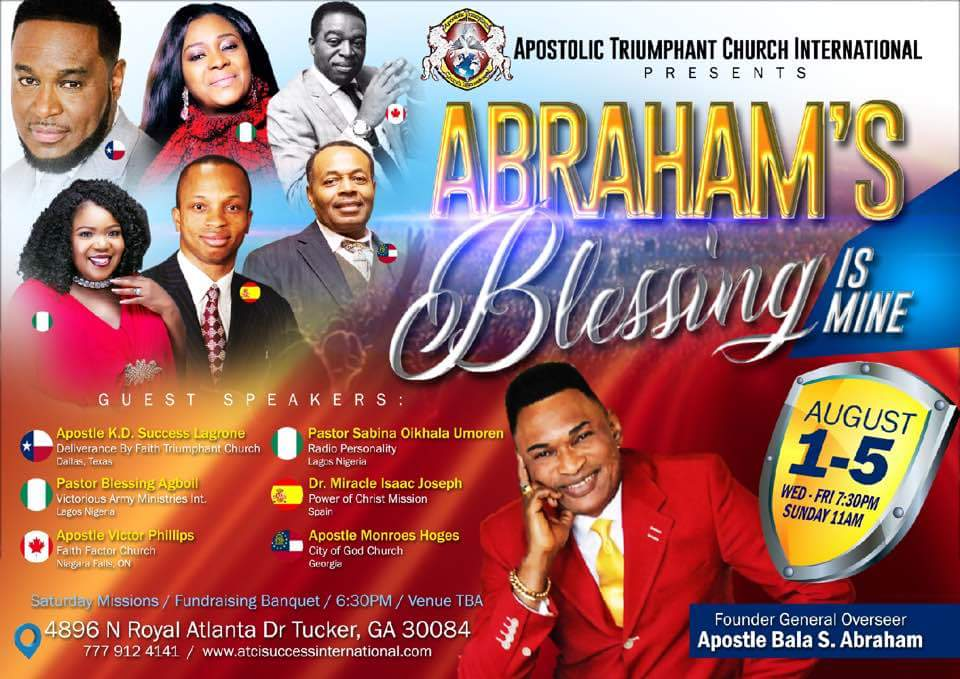 Abrahams Blessing is Mine