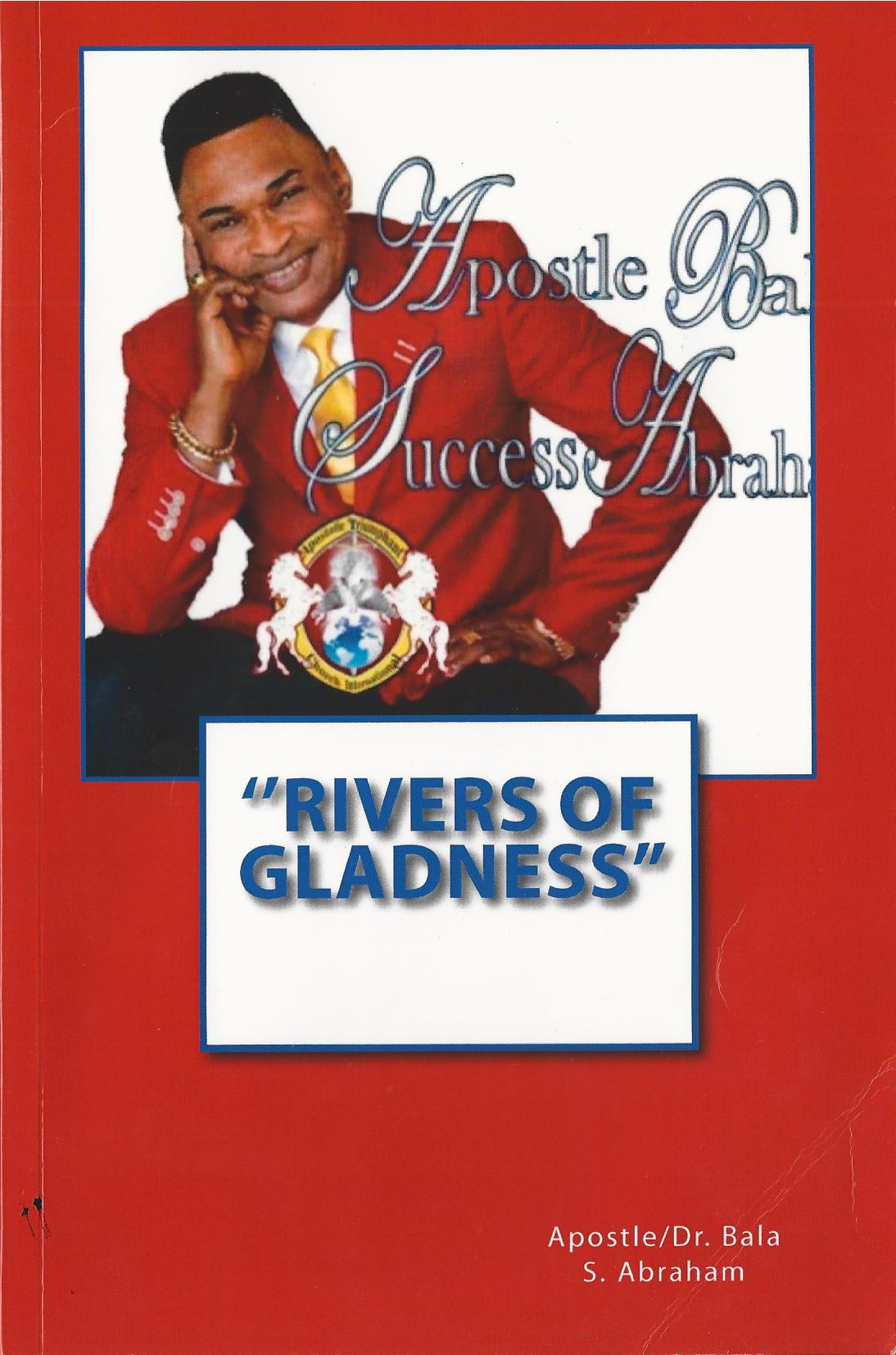 Rivers of Gladness Book Cover Apostle Ba