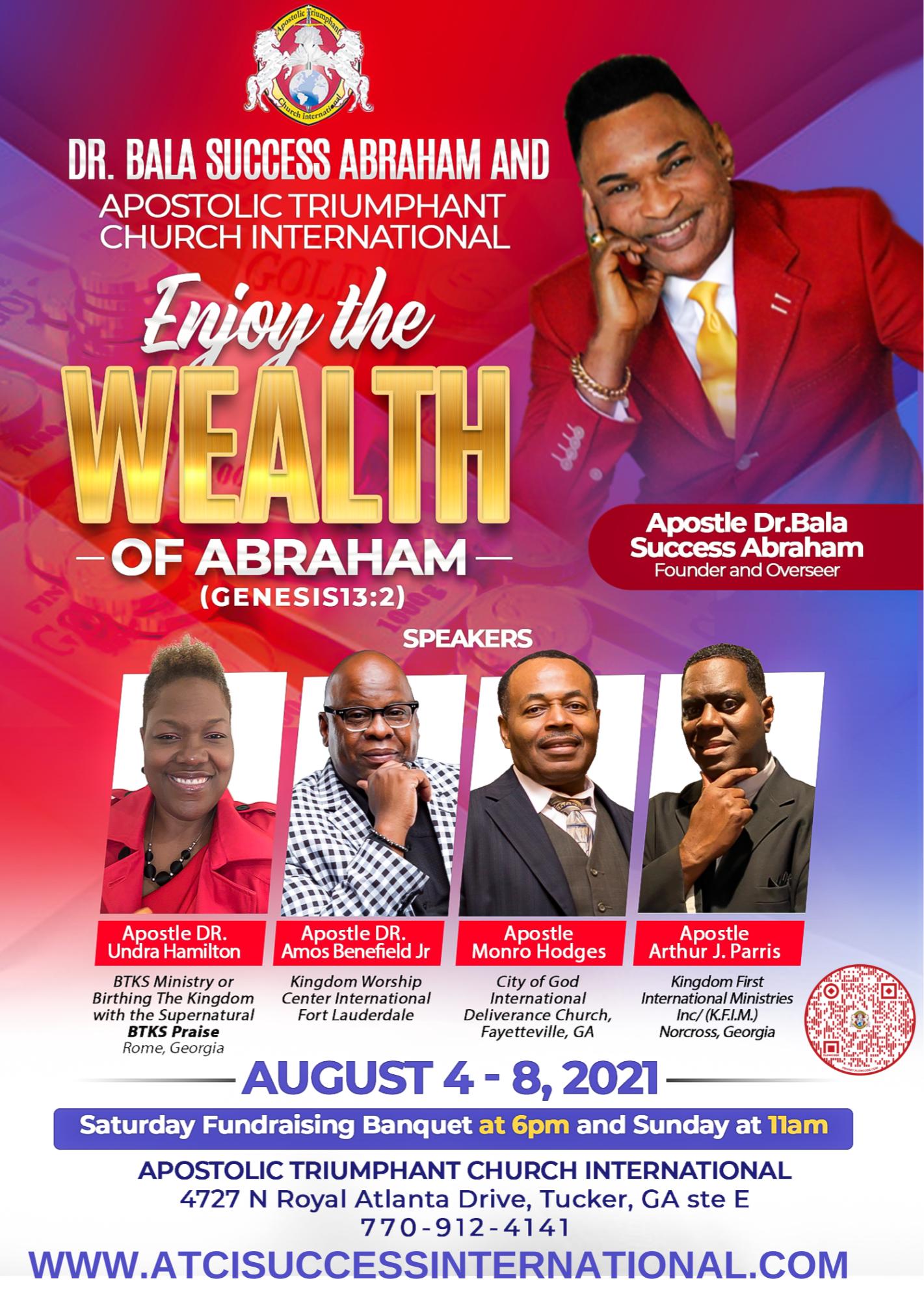 Enjoy the Wealth of Abraham