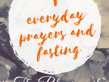 Fasting Prayers Day 5 of 10
