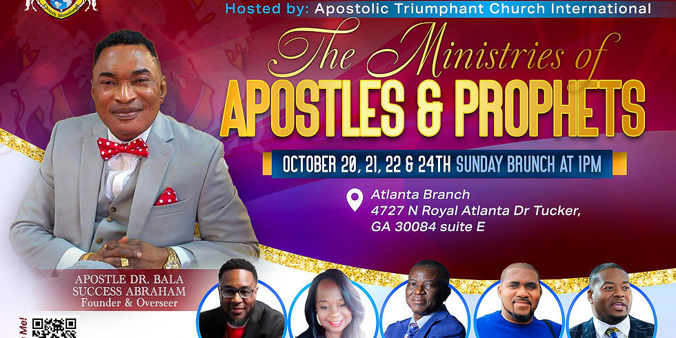 Apostolic Leaders of the Year 2022
