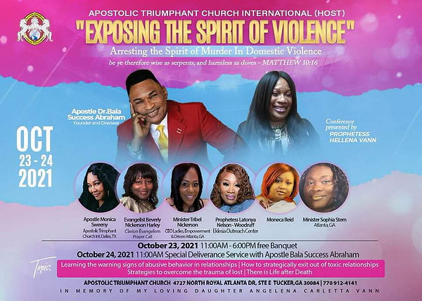 Exposing the Spirit of Violence