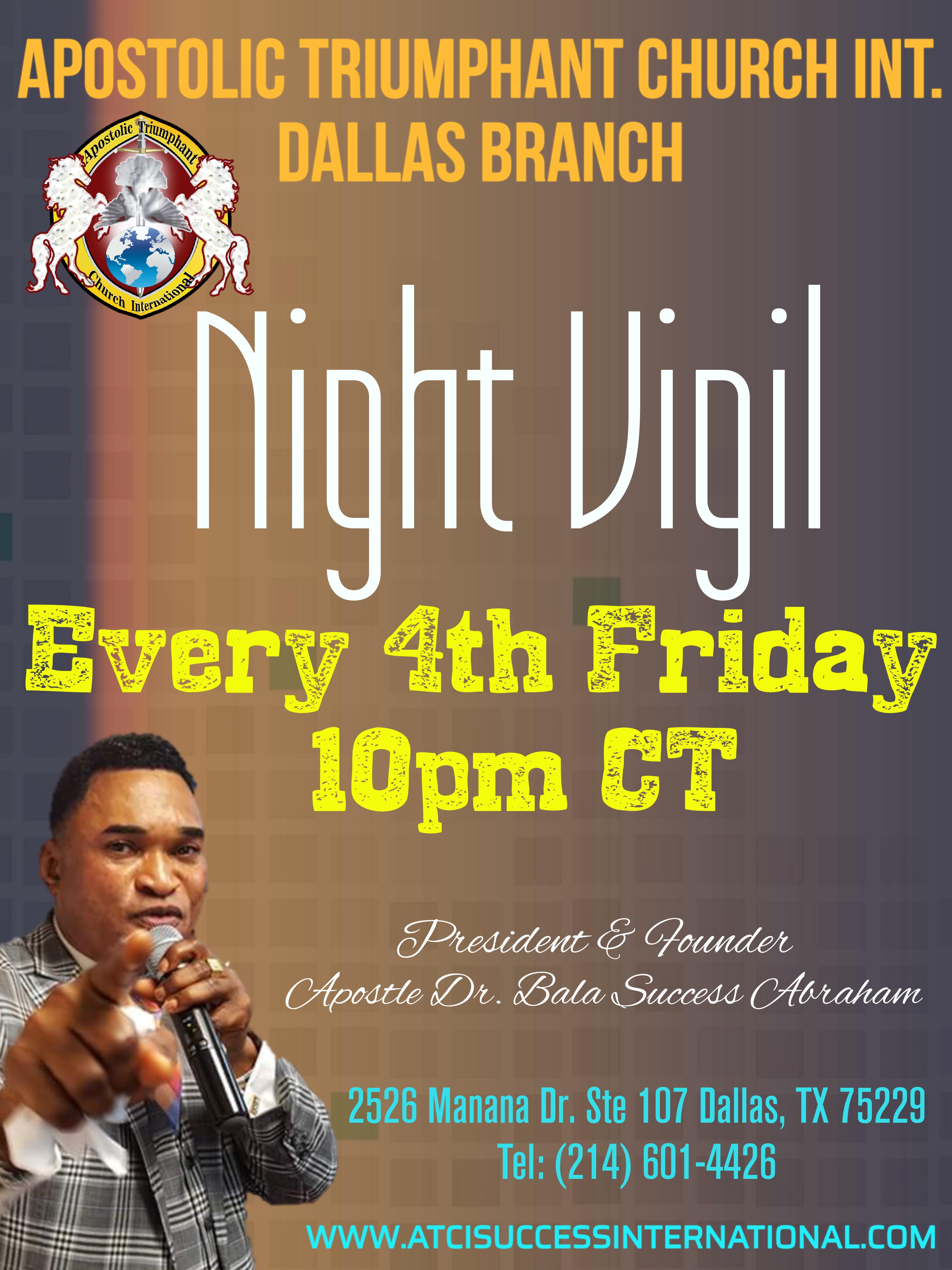 Dallas Night Vigil