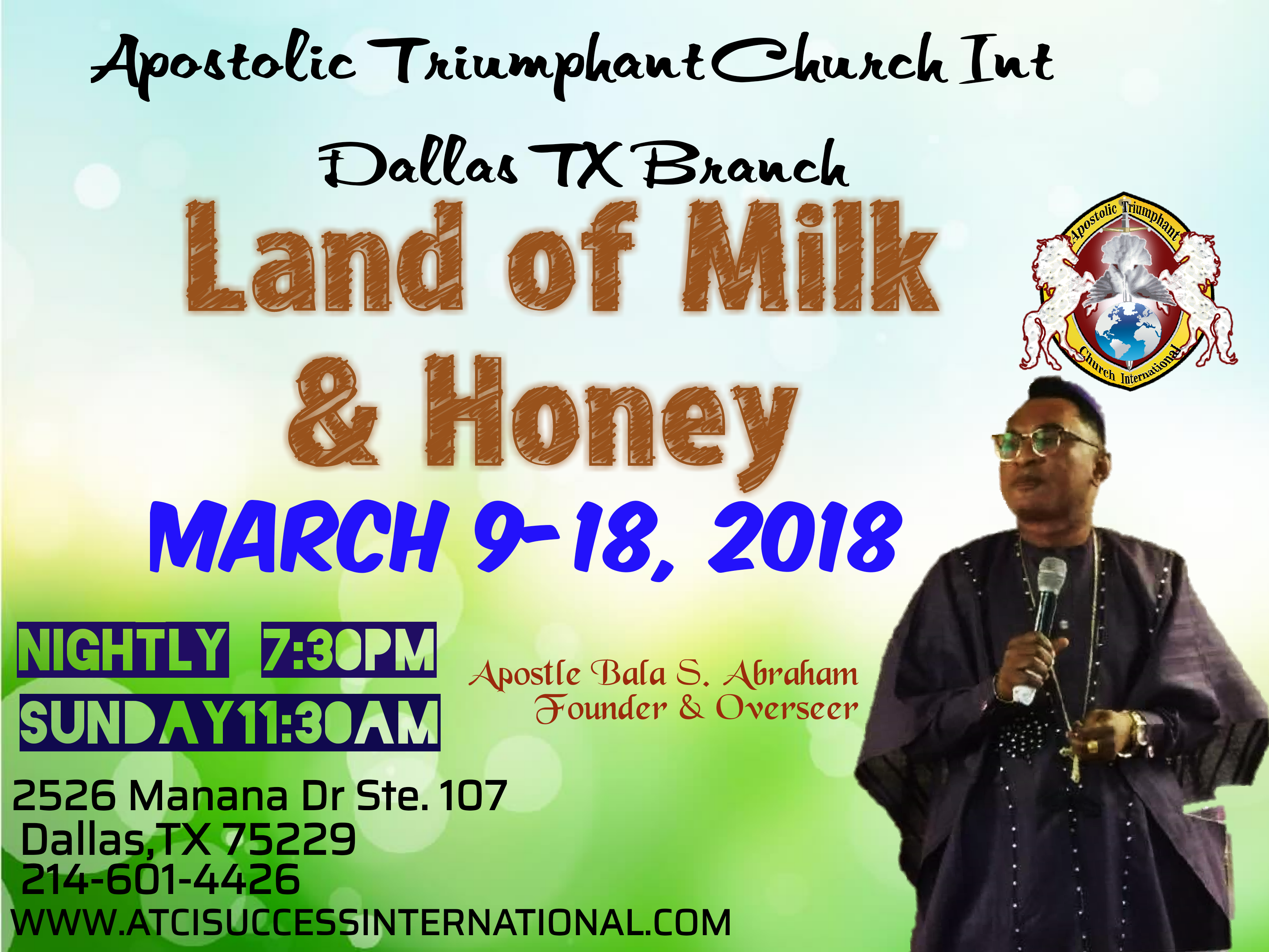 Land of Milk and Honey Dallas 2018