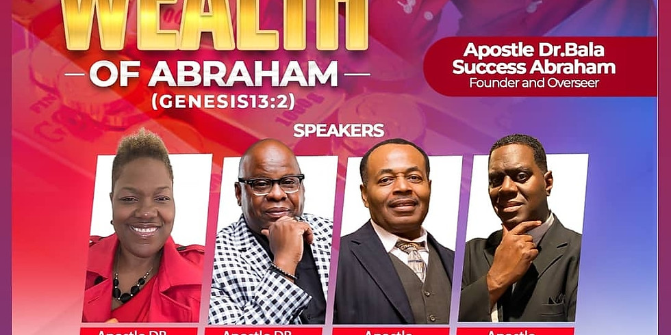 Enjoy the Wealth of Abraham August Missions  Conference