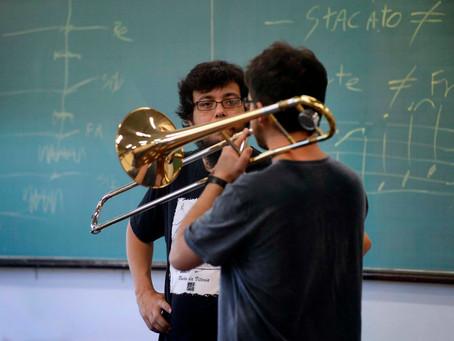 34° Oficina de Música de Curitiba (Interpretação e improvisação para instrumentos melódicos)