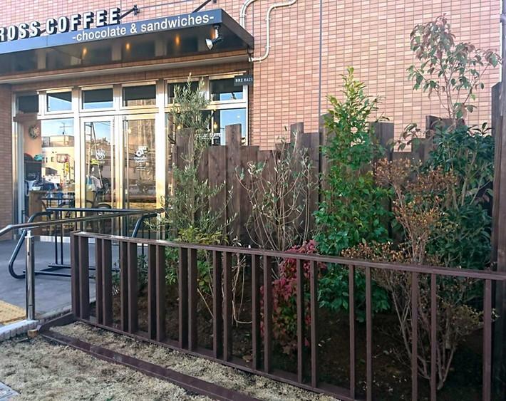 カフェ駐輪場