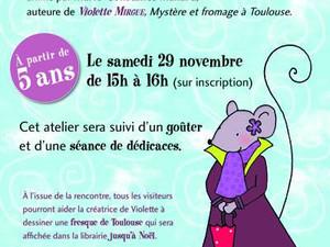 Atelier dessin avec Violette Mirgue !