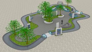 Antalya Kepez Dokuma Park Bilim Merkezi Açık Hava Sergisi