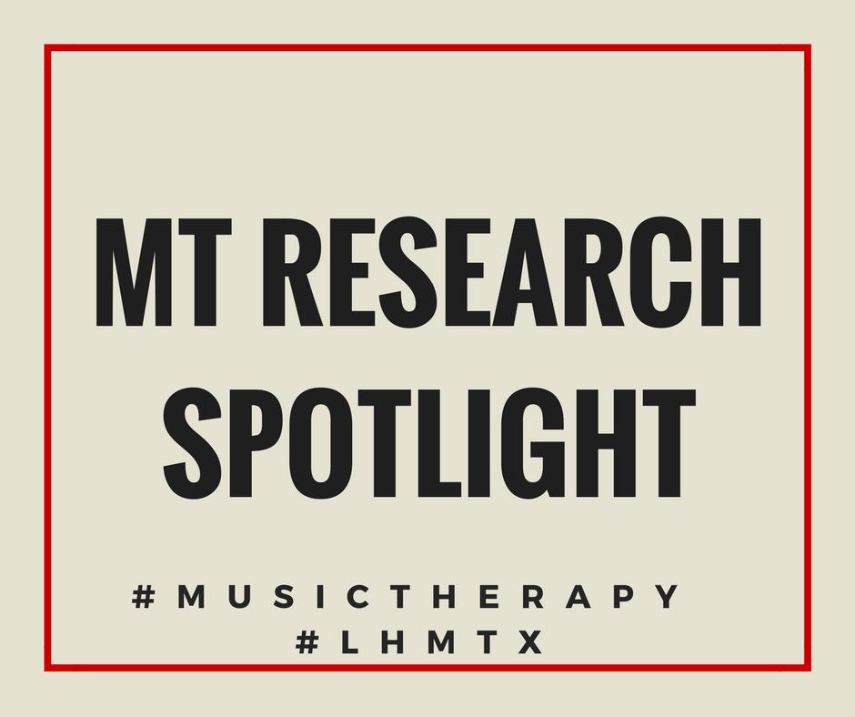 """MT Research spotlight"""
