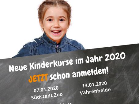 Neue Kinderkurse im Neuem Jahr