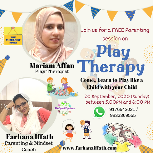Mindful Parenting Series (2): Importance of Play Therapy