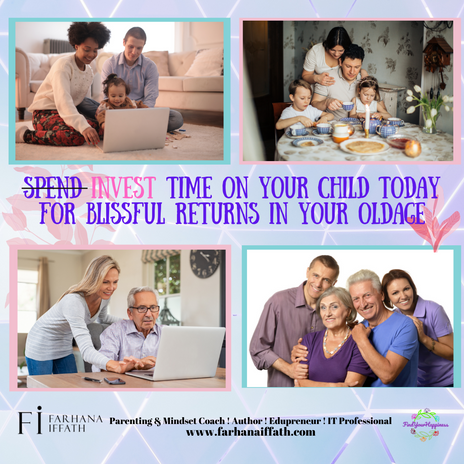 Invest Your Time on your Child