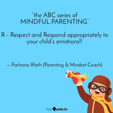 """""""the ABC series of MINDFUL PARENTING"""""""