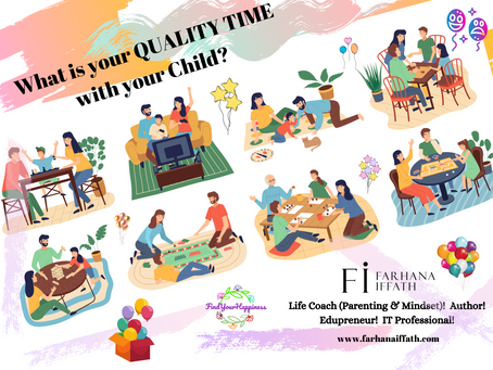 Investing Quality Time with Your Child