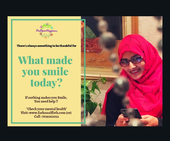 What made your smile today?