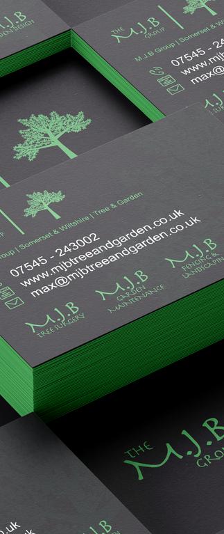 M.J.B Group - Business Card